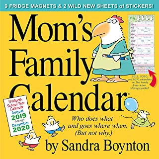 Mom's Family Wall Calendar 2020 - coolthings.us