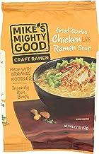 MIKES MIGHTY GOOD Organic Fried Garlic Chicken Ramen, 2.2 OZ