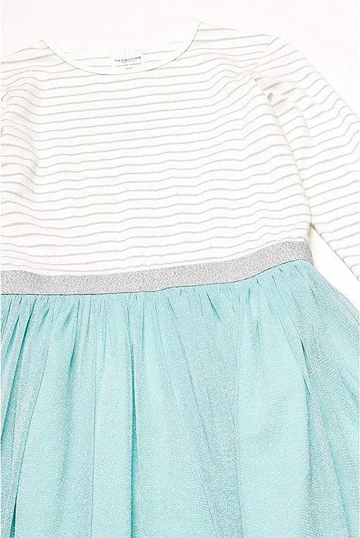 Turquoise/White/Silver