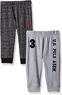 Baby Boys'' 2 Pack Fleece Jogger Pant