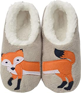 Pairables Womens Slippers - House Slippers - Feelin' Foxy