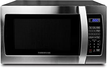 Farberware Professional FMO13AHTBKE 1.3 Cu. Ft. 1000-Watt, Microwave Oven with Blue LED..