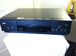RCA VR622HF Home Theater VCR Video Cassette Recorder 4-Head Hi-Fi Stereo VHS Player. VHS HQ. VCR-Plus+. AccuSearch Feature. Works Great. Energy Saver Star Rated Device.