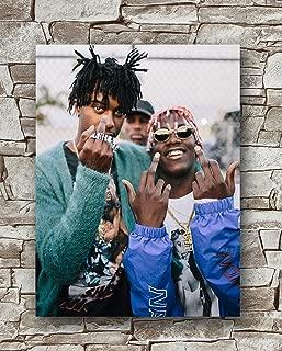Zero.o Lil Yachty x Playboi Carti - Minnesota Poster Size 18 Inches X 24 Inches,Lil Yachty x Playboi Carti Posters Wall Poster Print