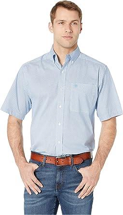 Edlin Stretch Print Shirt