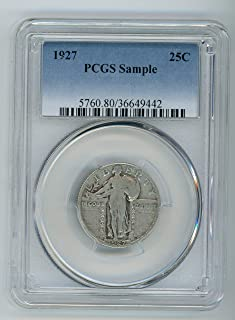 1927 Standing Liberty Quarter 25c Sample Coin PCGS