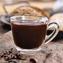 OCEAN Kenya Espresso Cup, Pack of 6, Clear, 65 ml, P01642