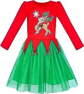 Best cotton kids christmas dress Reviews