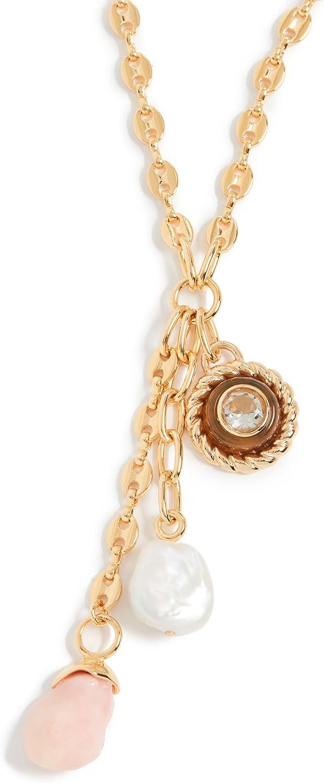 Lizzie Fortunato Women's Anchor Lariat Necklace