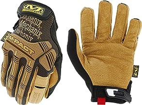 Mechanix Wear - Leather M-Pact Gloves (Medium, Black/Brown)