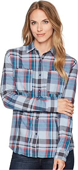 Dusty Blue Sierra Plaid