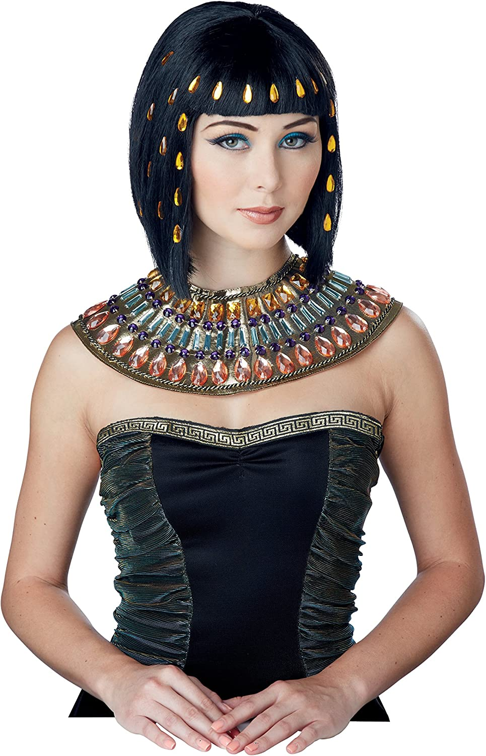 55% OFF California Costumes Women's Jewel Nile Outstanding The Wig of