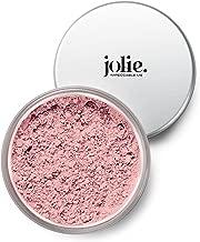 Jolie Loose Mineral Blush - 100% Pure, Unscented, Hypoallergenic, Oil-Free, Talc & Paraben-Free (Pink Quartz)