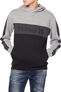 Hurley M Blocked Pullover Fleece Sweater Homme