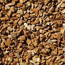Exotic BPWS468 Bean Pebbles, Wood, 5 Pounds