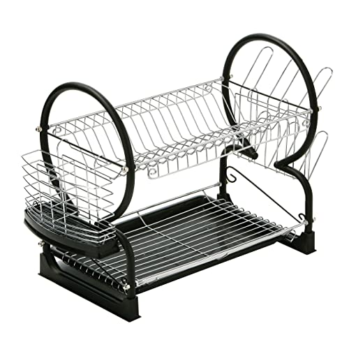 Two Tier Dish Drainer: Amazon.co.uk