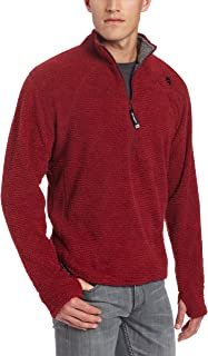 Hot Chillys Men's Pico Fleece Half Zip Tee