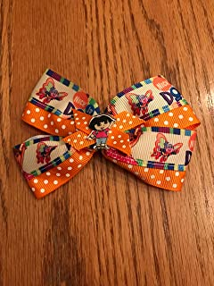 dora the explorer hair bows