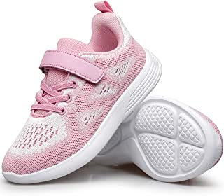 Sponsored Ad - YHOON Boys Girls Sneakers Kids Sports Running Walking Shoes for Toddler/Little Kid/Big Kid