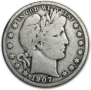 1907 half dollar o