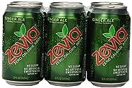 Zevia All Natural Soda, Diet Ginger Ale, 6-pack, 72 fl oz