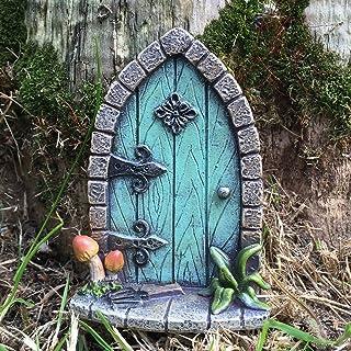 comprar comparacion Decoración para árbol de jardín, diseño de en forma de puerta de duende, elfo o hada, accesori...