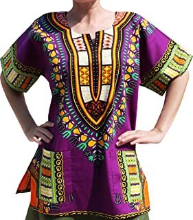 Full Funk Bright Unisex Dashiki Festival Shirt - African Top