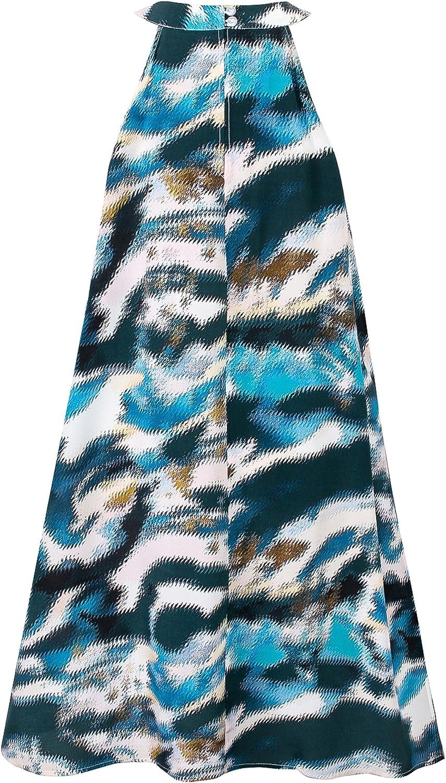 Women's LowKey Luxurious Natural Silk Sleeveless Dress Sleepwear Nightdress