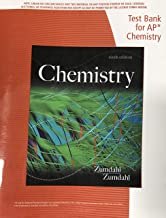 Test Bank For AP Chemistry Zumdahl 9th edition