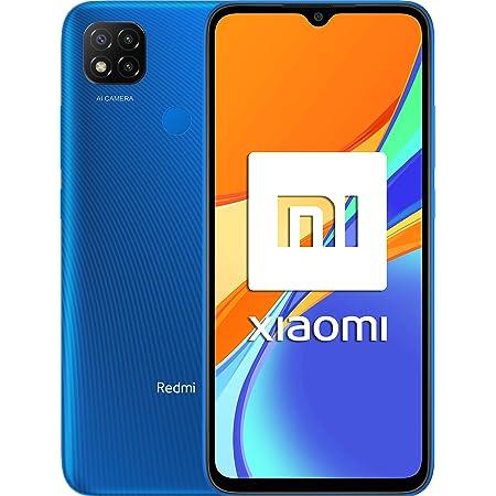 Xiaomi Redmi 9C - Smartphone 3 GB + 64 GB, Dual Sim, Blu (Twilight Blue)