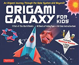 Origami Galaxy for Kids Kit: An Origami Journey through the Solar System and Beyond! [Includes an Instruction Book, Poster, 48 Sheets of Origami Paper and Online Video Tutorials]