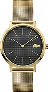 Lacoste Womens Quartz Watch, Analog Display and Stainless Steel Strap 2001073