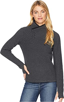 Blacktail Fleece Snap-Neck Pullover