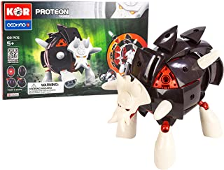 Geomag Kor Proteon Blatta Transformer – 68 Piece Creative Magnet Playset Toy – Swiss Made – Part of Geomag's World Famous Award Winning Product Line – Intermediate Level – Ages 5 and Up