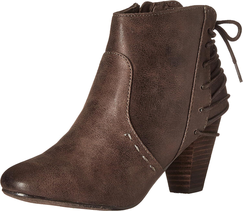 Report Women's Milla Ankle Bootie Brown