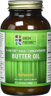 X-Factor High Vitamin Gold Butter Oil 8oz Gel - PLAIN Flavor