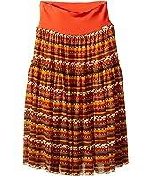 Junior Gaultier - Solene Long Tulle Skirt (Toddler/Little Kid)