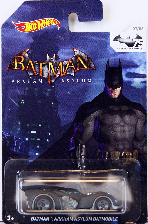 ventas al por mayor Hot Wheels - 75 Years of Batman Batman Batman - Die-Cast - 07 of 08 - Batman - Arkham Asylum - Batmobile by Hot Wheels  calidad fantástica