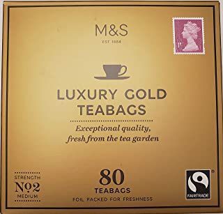 luxury gold tea bags marks and spencer