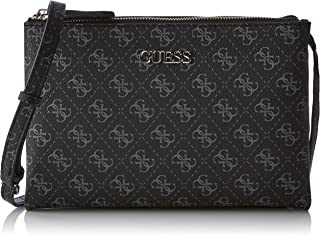 69a74482ad Guess Maci Mini Double Zip Crossbody, Sacs bandoulière