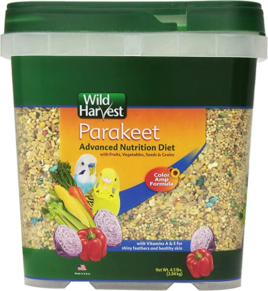 Wild Harvest Wh 83540 Wild Harvest Advanced Nutrition Diet For Nutrition Diet For Parakeets 4 5 Pound
