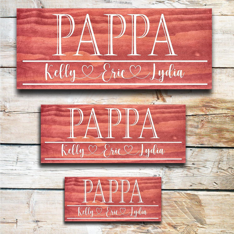 Pappa Grandpa Max 69% OFF Father's Max 59% OFF Day Gift Personalized Gi