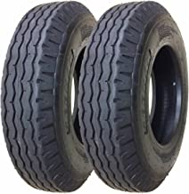 Zeemax Heavy Duty Highway Trailer Tires 8-14.5 14PR Load Range G - Set 2