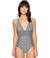 Athena - Baja Geo Alana Cross One-Piece