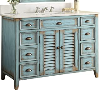 Best 48 inch double sink floating vanity Reviews