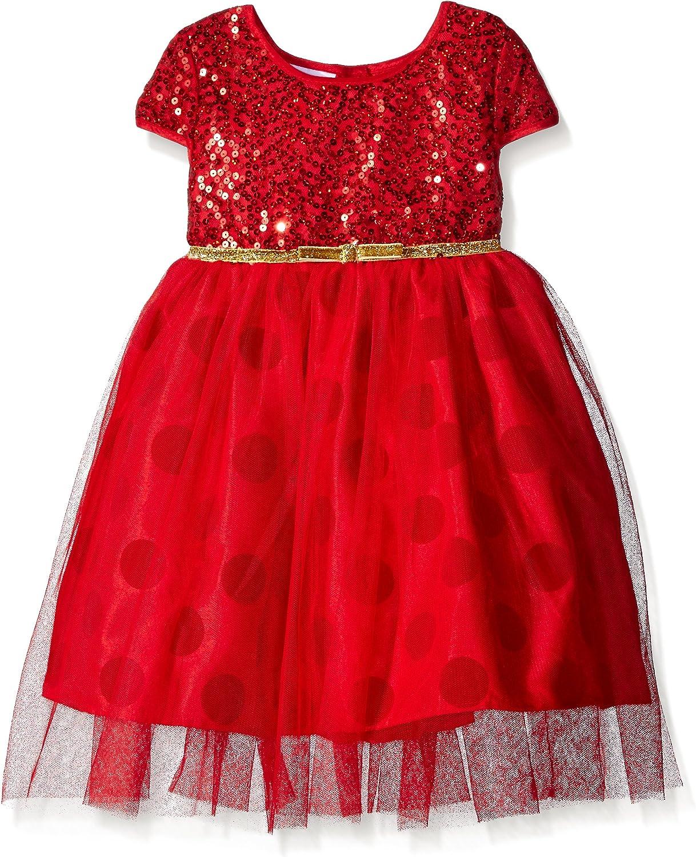 Blueberi Boulevard Girls' Sparkle Bodice Spec OCC Dress
