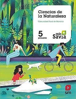 Ciencias de la naturaleza. 5 Primaria. Más Savia. Navarra