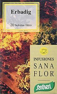 Santiveri Sanaflor Infusion Erbadig 20 Bolsitas 400 g