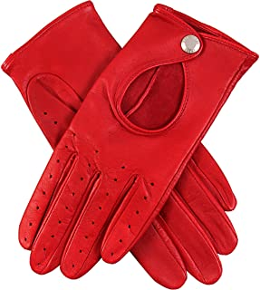 Dents Womens Thruxton Leather Driving Gloves
