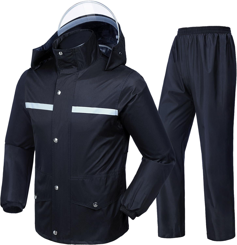 Meahyn Unisex-adult Workwear Rain Suit